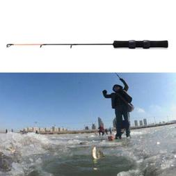 0.5M Carbon Ice Fishing Rod Mini Pole Winter Ultra-light Fis