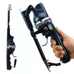 1.4m Foldable Fishing Rod Built-in Fishing Reel with 80m Lin