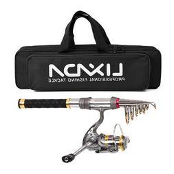 1.5M Fishing Rod Reel Combo Lixada Fishing Accessories for T