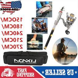 Top Seller 1.5-2.7M Telescopic Fishing Rod Reel Combo Full S