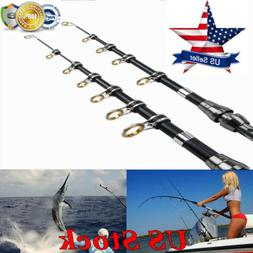 1.8/2.4/2.7M Fishing Rod Carbon Fiber Telescopic Portable Se
