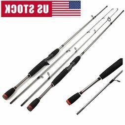 1.8M Portable Carbon Fiber Outdoor Telescopic Fishing Rod Se