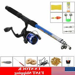 1 8m telescopic fishing rod reel line