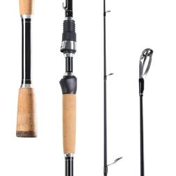 Entsport 1-Piece Carbon Casting/Spinning Rod Fast Bass Fishi