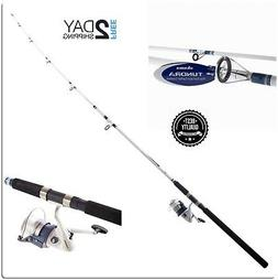10' Spinning Saltwater Fishing Rod & Reel Combo Okuma Tundra