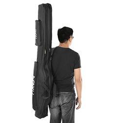 Lixada 100cm/130cm/150cm Fishing Bag Portable Folding Fishin