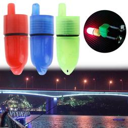 10pcs Clip Fishing Rod Tip LED Lights for Twin Bell Electric