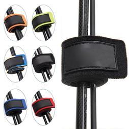10x Reusable Fishing Rod Tie Holder Strap Fastener Ties Fishing Accessories Kit