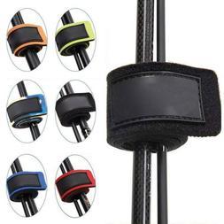10Pcs Reusable Fishing Rod Tie Holder Strap Fastener Ties Fi
