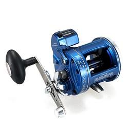 Lixada 12 Ball Bearings Fishing Trolling Reel with Line Coun