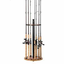 Organized Fishing 16 - Rod Round Floor Rod Rack