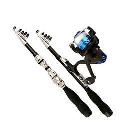 1M Telescopic Fishing Rod Super Short Pocket Folding Retract