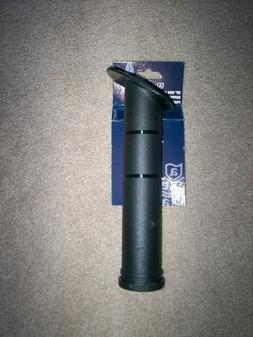 2 ATTWOOD #12704  30 DEGREE ROD HOLDER BLACK PLASTIC CLOSED