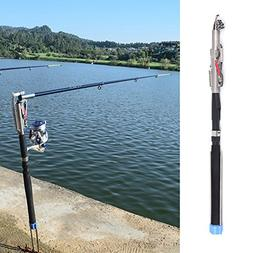 Lixada 2.1m/2.4m/2.7m/3.0m Automatic Fishing Rod Adjustable