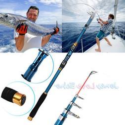 2.1m Professional Carbon Fiber Telescope Fishing Rod Travel