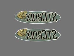 2 inch St Croix Vinyl Decal Sticker Fishing Lure Rod Reel T