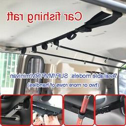 Vehicle Rod Carrier  Holder Strap With Tie Suspenders Wrap F