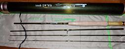 2WT 6.5FT 4Pieces  Fly Fishing Rod  & Carbon Rod Tube FREE 3