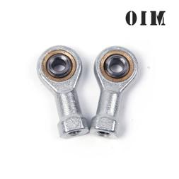 2X M10 Bearing Steel Fish Eye Rod End Joint Bearing Left Int