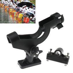 2x Universal Adjustable 360 Degree Kayak Boat Fishing Rod Ho