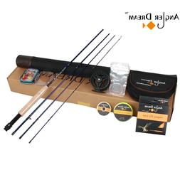 3/5/8WT Fly Fishing Combo Carbon Fiber Fly Rod with Reel Kit