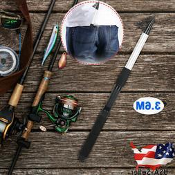 3.6m Glass Fiber Telescopic Fishing Rod Hand Tackle Sea Fish