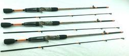 3 Each Zebco 33 Camo Rod 33CAMOC502UL, 5' UL,2 Piece Rod's