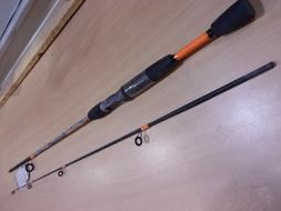 ZEBCO 33 CAMO ROD 6 foot medium action two piece spinning ro