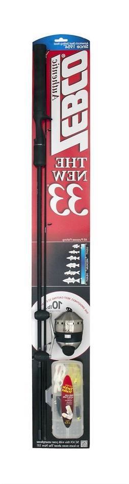 Zebco 33 Spincast Combo