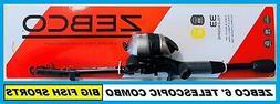 Zebco 33 Telecast Combo, 6-Feet