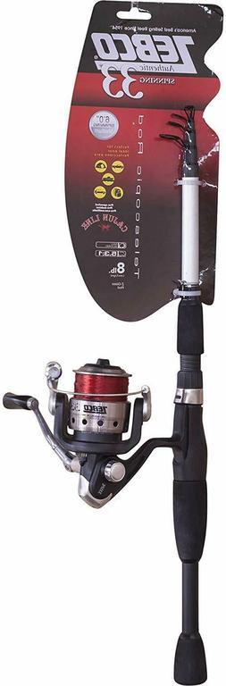Zebco 33 Telecast SP 6ft Telescopic 33SP605MTEL 08C F Spinni