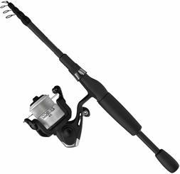 Zebco 33 Telescopic Spinning Reel and Fishing Rod Combo, Con