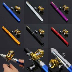 38inch Mini multicolor Portable Pocket Aluminum Alloy Fishin