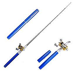 SUPOW 39'' Telescopic Saltwater Fishing Rod - Ice Fishing Fo