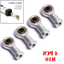 4Pcs M10 Bearing Steel Fish Eye Rod Left Thread Female End J