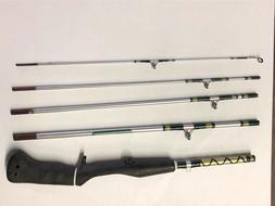 5 pc ZEBCO 6' ROD  model 4304     fishing rod, casting