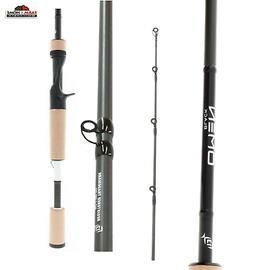 6 10 omen black medium casting fishing