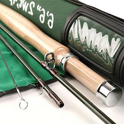 """FullMoon Outfitters 6'6"""" 2wt. 4-pc Fly Rod From FMO Trav"""