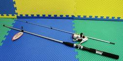 "6'6"" Okuma Boundary Fishing Rod & Reel BD30 Spinning Combo ~"