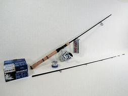 """6'6"""" Ugly Stik Elite 2 Pc. Spin Rod With Wright & McGill  Re"""
