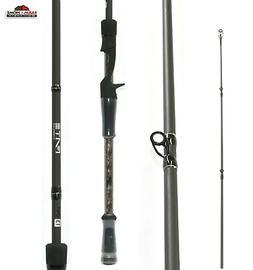 """7'6"""" ~ 13 Fishing Fate Chrome Medium Heavy Casting Fishing R"""