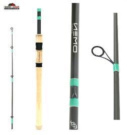 """7'7"""" ~ 13 Fishing Omen Green 2 Medium Heavy Spinning Fishing"""