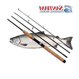 Santiam Fishing Rods Travel 4 Piece 7'6'' 15-30lb MF Graphit