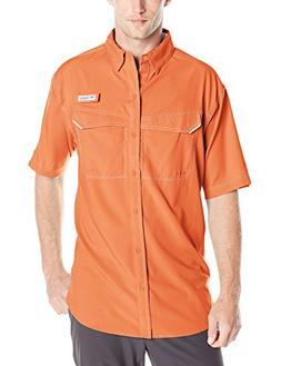 Columbia Men's Low Drag Offshore Short Sleeve Shirt, Island