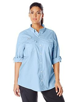 Columbia Sportswear Plus Bonehead II W Long Sleeve Shirt, Wh