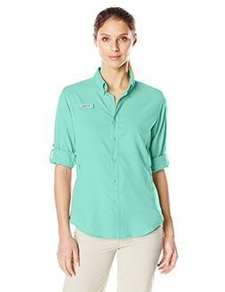 Columbia Women's Tamiami II Long Sleeve Shirt, Pixie, Large