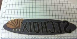"""Large 24"""" Carpet Graphic St. Croix ROD Decal Stickers for fi"""