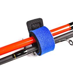 Lixada// 2 Pack Fishing Rod Sleeve Strap Belt Fishing Pole T