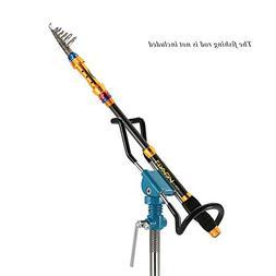 Lixada Adjustable Stainless Steel Detachable Fishing Rod Pod