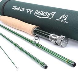 Maxcatch 3-12wt Medium-fast Action Premier Fly Rod-IM8 Carbo